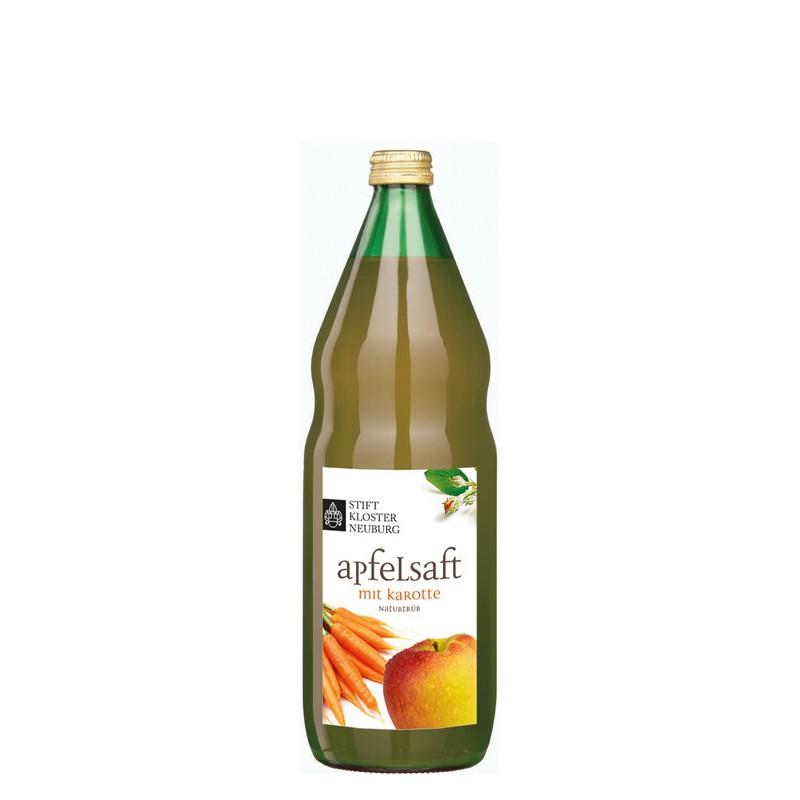 Apfelsaft mit Karotte