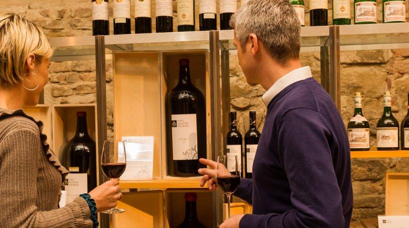 Weinprobe in Vinothek Stift Klosterneuburg