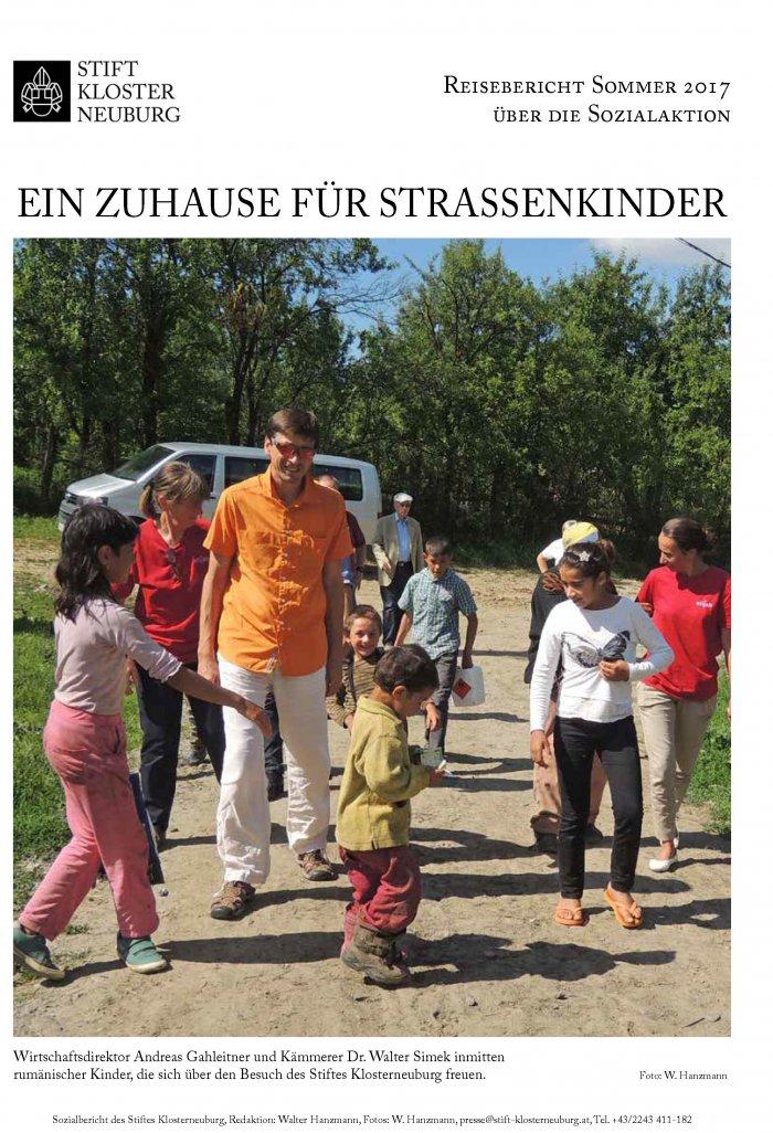 Cover Reisebericht Sozialaktion des Stiftes