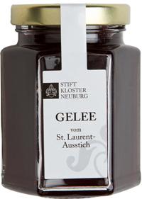 Weingelee vom St. Laurent Ausstich