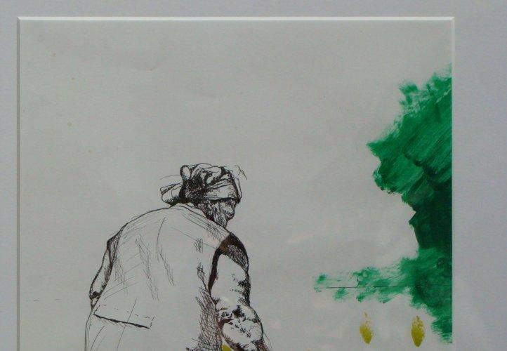 St. Leopold Friedenspreis Gewinnerin 2010, Ramona Schnekenburger, 'Oma mit Kind'