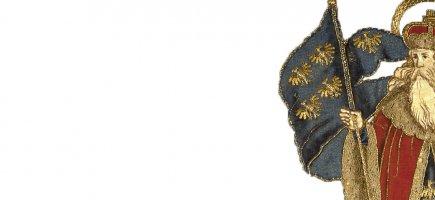 Detail des Markgrafenornates