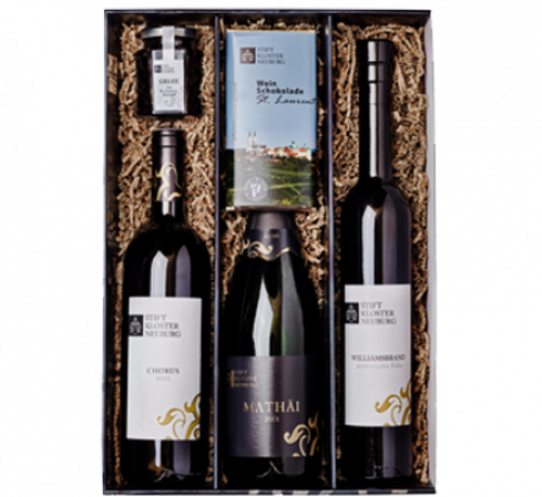 Gift sets of Stift Klosterneuburg wine estate