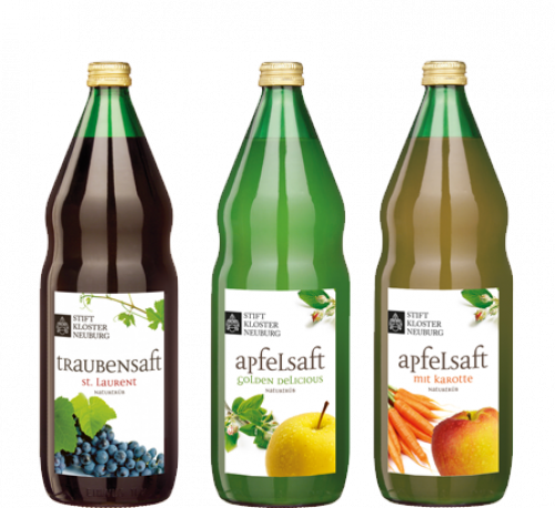 Stift Klosterneuburg fruit juices