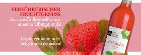Erdbeernektar vom Stift Klosterneuburg