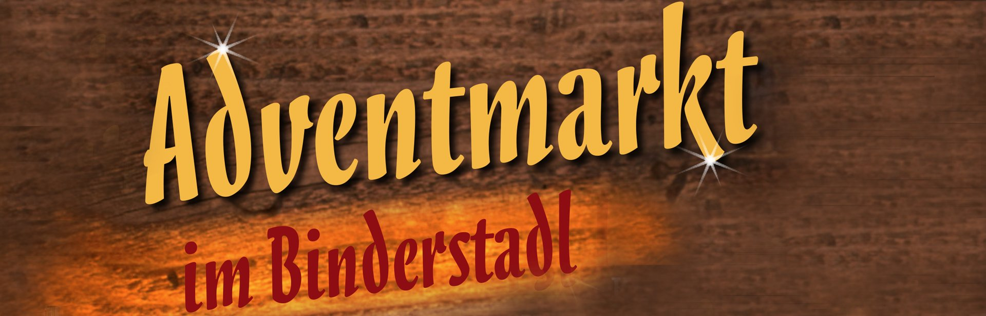 Adventmarkt im Binderstadl