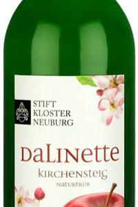 Stift Klosterneuburg Apfelsaft Dalinette von der Lage Kirchensteig in der 0,75l Flasche