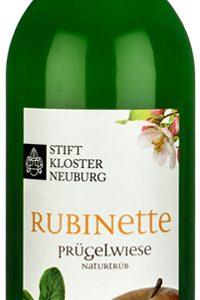 Stift Klosterneuburg Apfelsaft Rubinette von der Lage Prügelwiese in der 0,75l Flasche