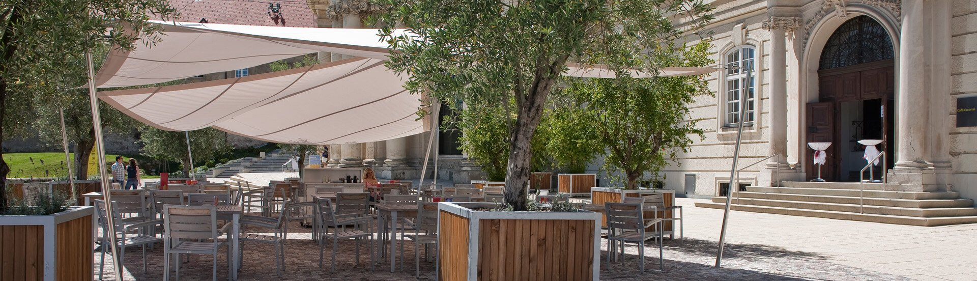 Terrasse Cafe Escorial