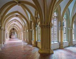 Der Kreuzgang im Stift Klosterneuburg
