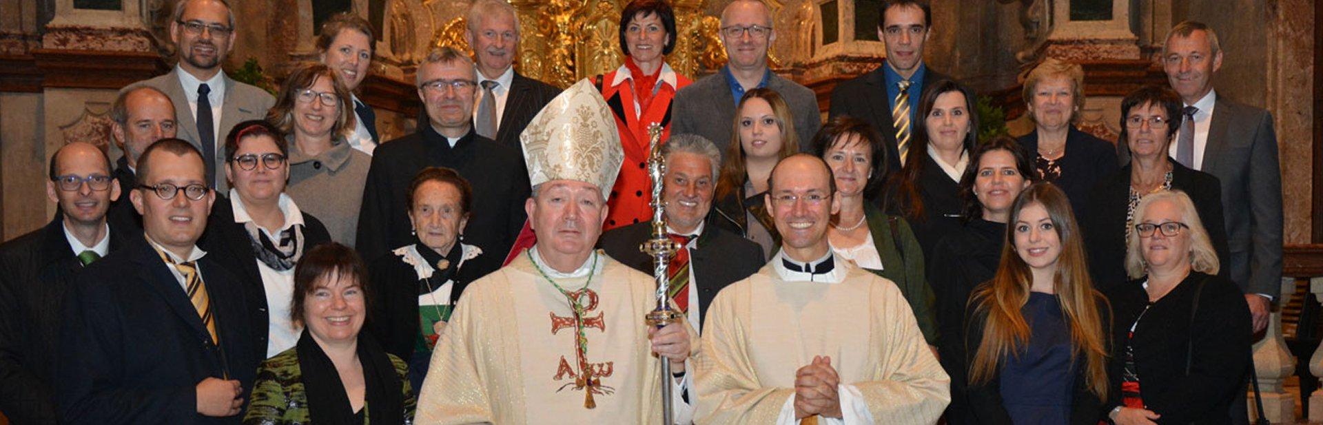Augustiner-Chorherr Thaddäus zum Priester geweiht