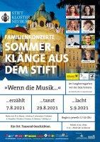 Sommerklänge im Stift Klosterneuburg Plakat