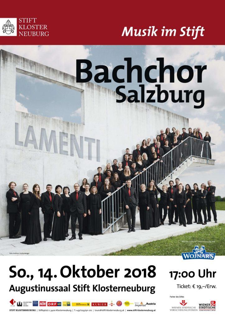 Stift Klosterneuburg Bachchor Salzburg