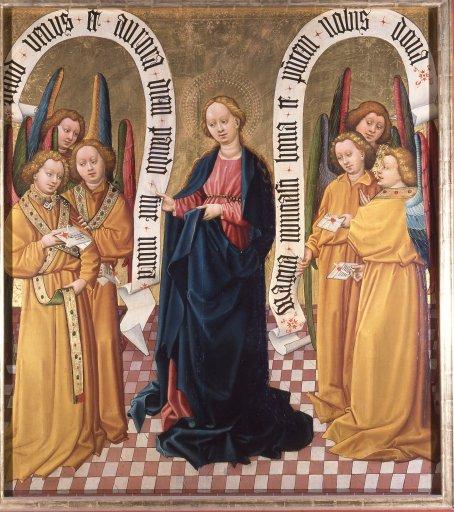 Albrechtsaltar – Die Königin der Archangeli GM 16