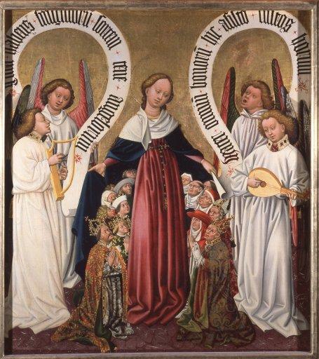 GM 17aAlbrechtsaltar – Die Königin der Angeli