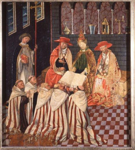 GM 17b_Bestätigung der Karmeliterlegende durch den Papst Albrechtsaltar