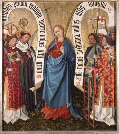GM 21 Albrechtsaltar – Die Königin der Märtyrer