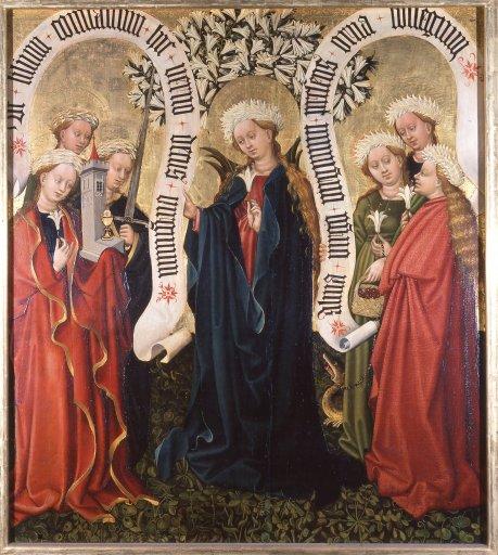 GM 23 Albrechtsaltar – Die Königin der Jungfrauen