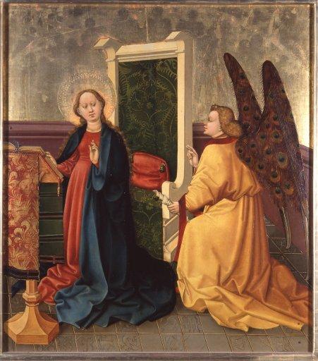 GM 27 Albrechtsaltar – Die Verkündigung Christi