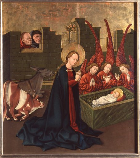 GM 29 Albrechtsaltar – Geburt Christi