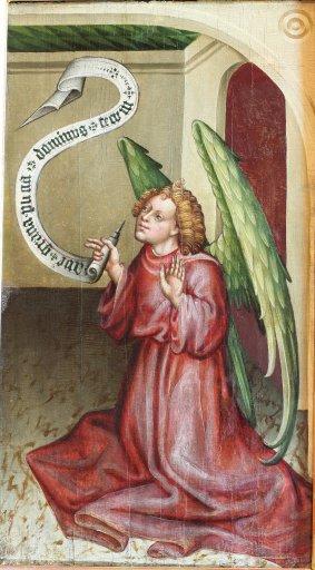GM 33 Erzengel Gabriel aus einer Verkündigung