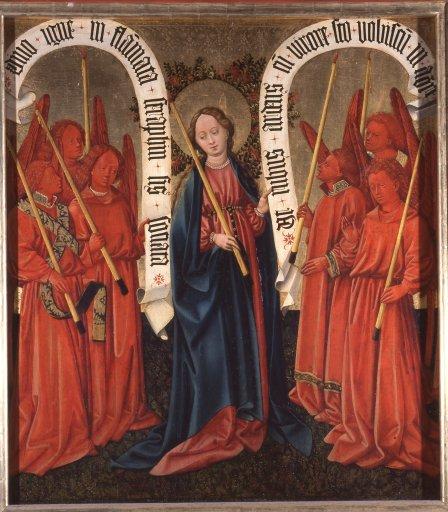 Albrechtsaltar Die Königin der Seraphim GM 9a