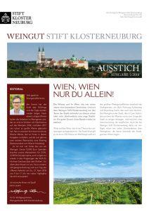 Kundenzeitschrift Ausstich 1/2018