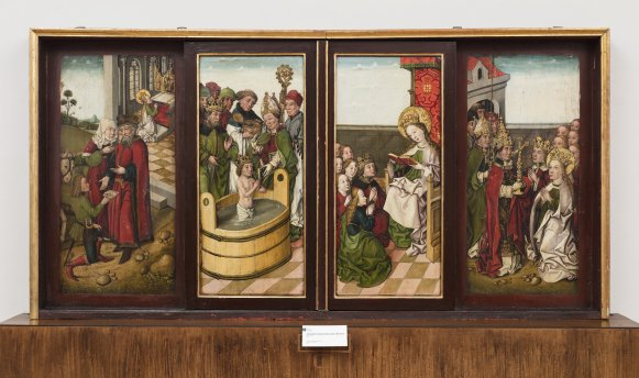 GM 47 Institut geschlossen GM 47 Institut geöffnet Ursula Altar