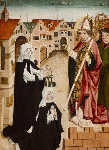 GM 63 Klostervisitation durch den Heiligen Korbinian
