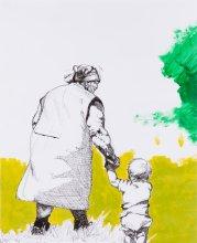 OG 523 Oma mit Kind Schneckenburger