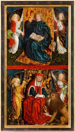 GM 52b Der hl. Johannes Evangelista und Hieronymus