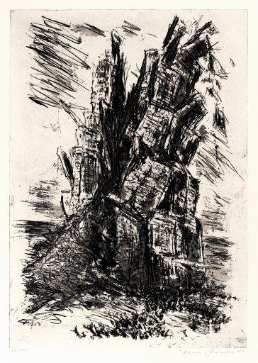 DG3683 Der Turm von Babel Hans Fronius