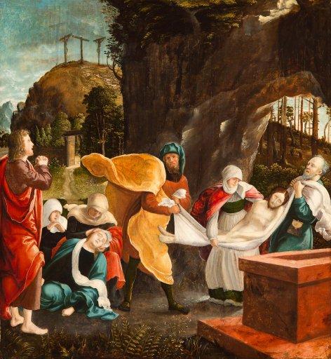 GM 104 Grablegung Christi