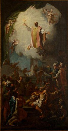 GM 135 Heiliger Ignatius als Fürbitter der leidenden Menschheit - Paul Troger