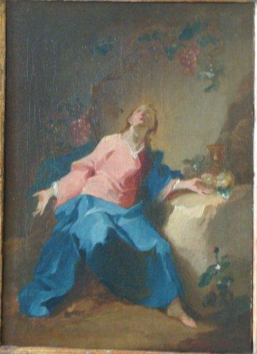 GM 896 Christus unter Weinranken (Allegorie der Eucharistie) - Joseph Winterhalter der Jüngere