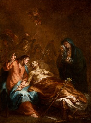 GM 949 Martin Johann Schmidt Tod des heiligen Joseph