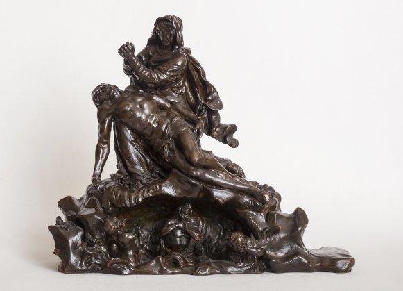 KG 175 Adorierender Engel und Pietà Lorenzo Matielli (1687- 1748)