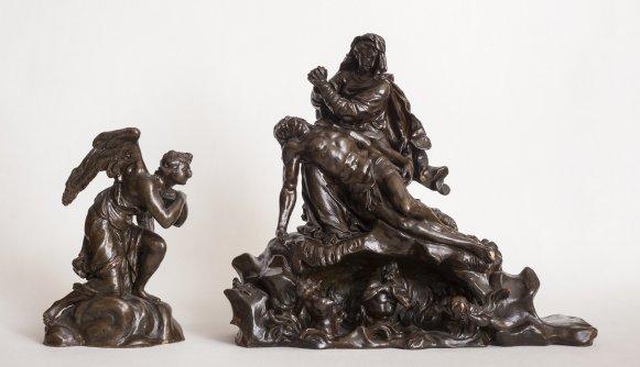 KG 175 Adorierender Engel und Pietà - Lorenzo Matielli
