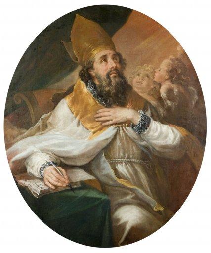 GM 131 Der heilige Augustinus Johann georg Schmidt