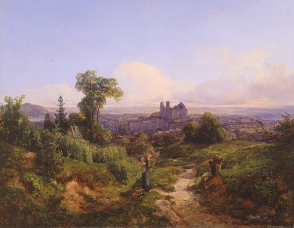 GM 195 Blick auf Klosterneuburg - Anton Hansch