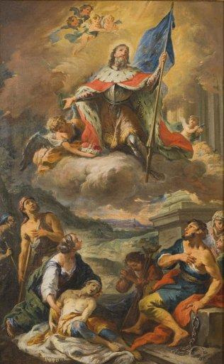 GM 541 Glorie des Heiligen Leopold - Martino Altomonte