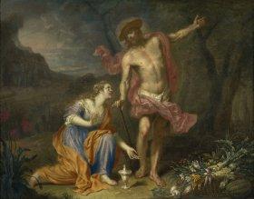GM 888 Christus als Gärtner (Noli me tangere) - Franz Christoph Janneck