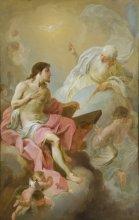 GM 945 Die heilige Dreifafltigkeit Felix Ivo Leicher (1727