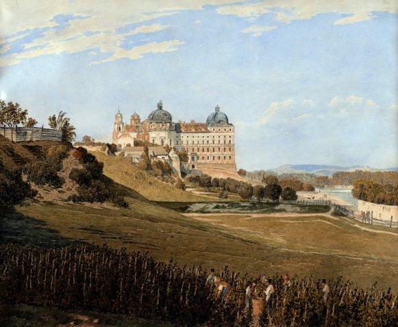 OG 1 Blick auf Klosterneuburg - Jakob Alt