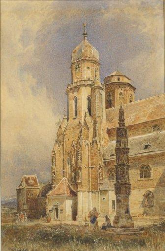 OG 118 Rudolf von Alt Die Stiftskirche in Klosterneuburg