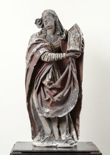 PL 5 Markgräfin Agnes mit Kirchenmodell