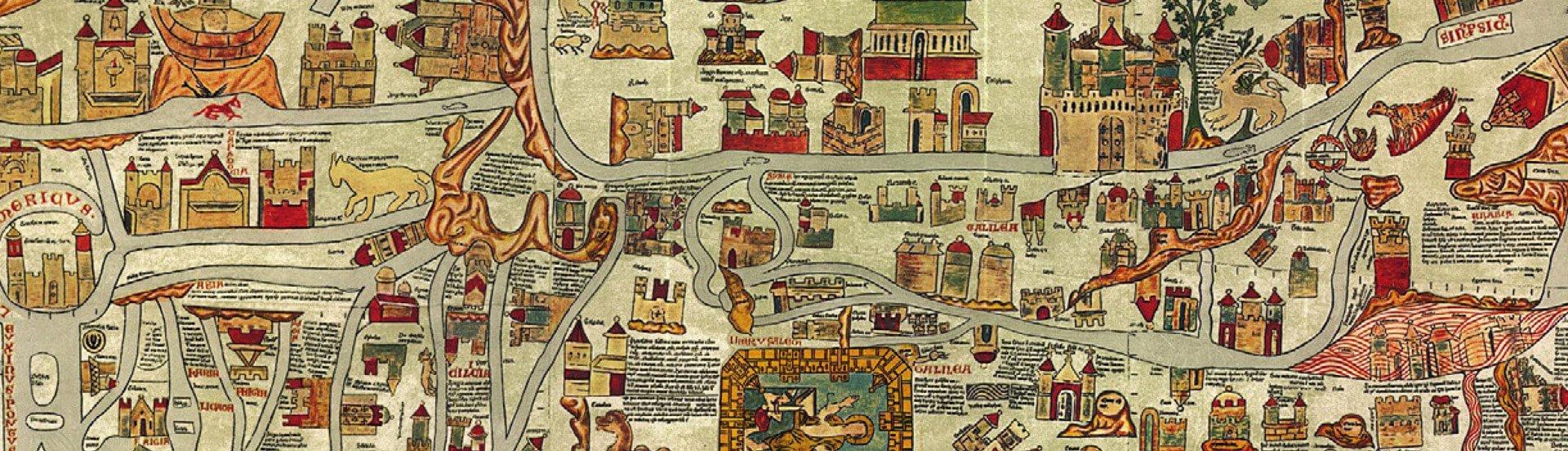 Ebstorfer Weltkarte, 1300