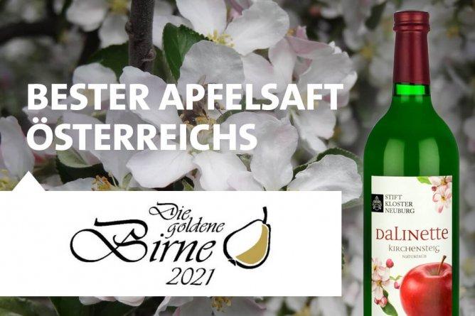 Dalinette bester Apfelsaft Österreichs