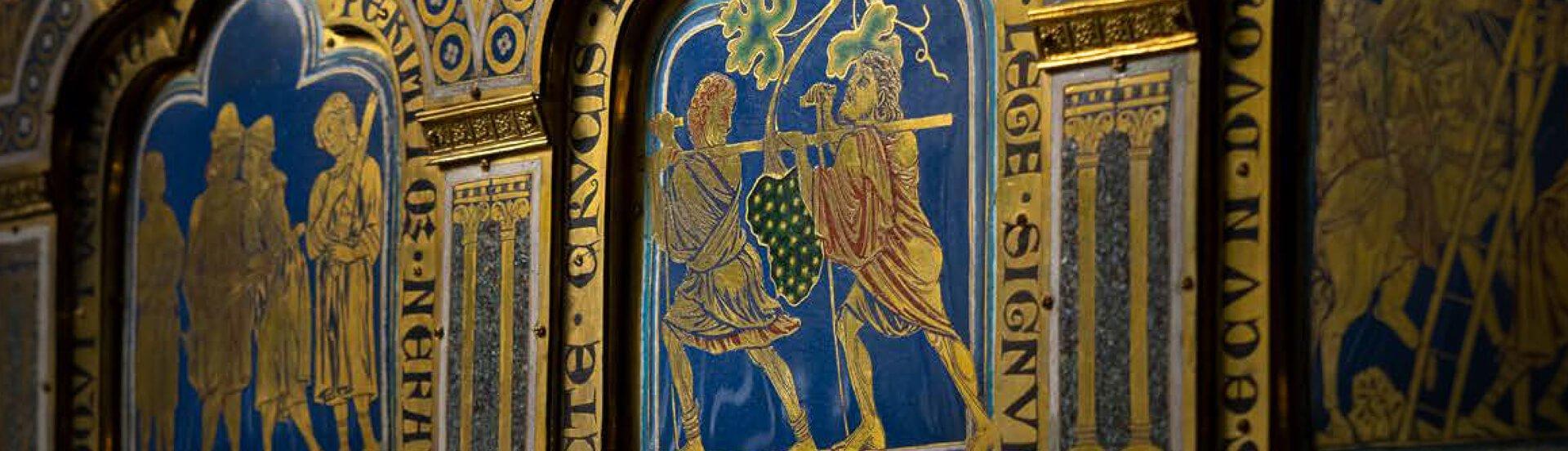 Detail aus dem Verduner Altar