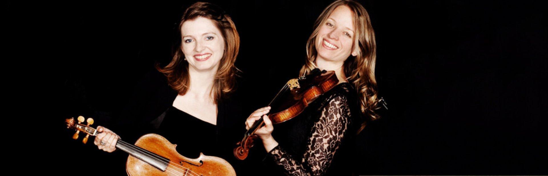 Zwei Künstlerinnen des Bach Consort